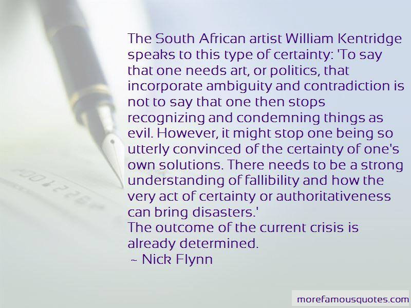 Quotes About William Kentridge