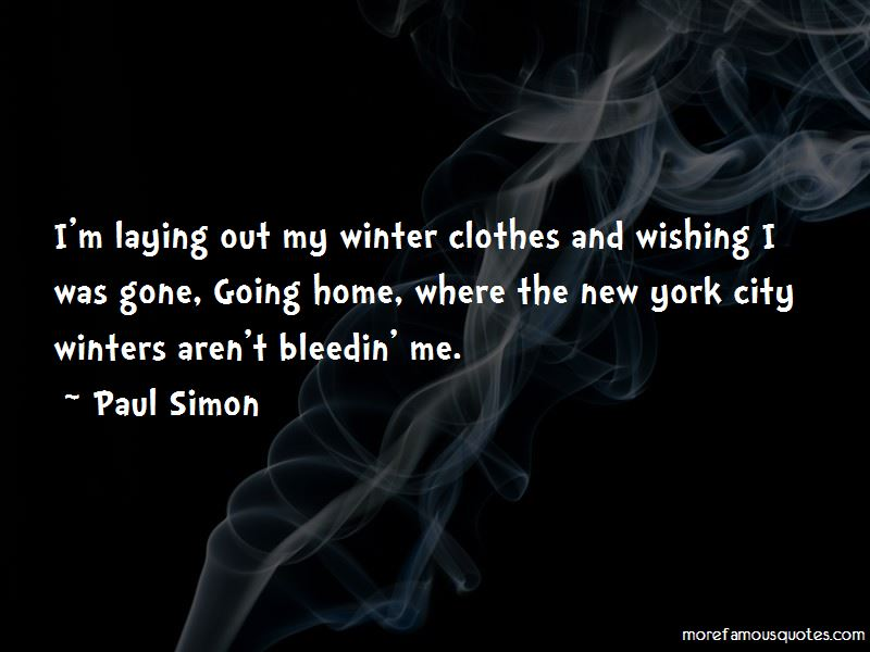 Quotes About Winter Clothes