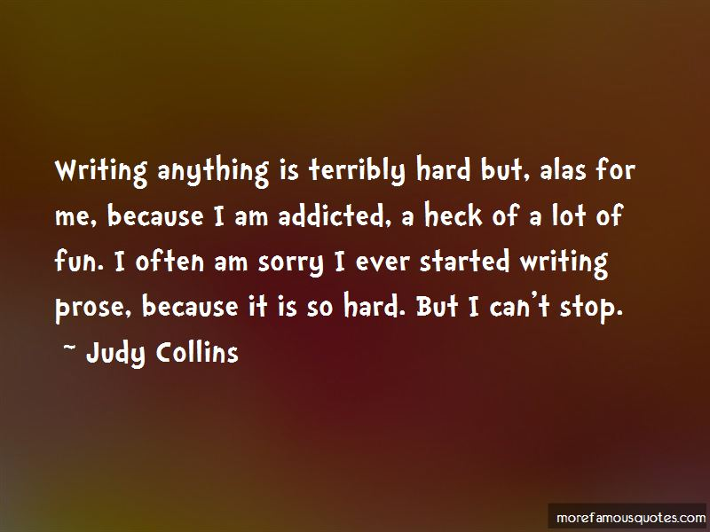 Quotes About Writing Prose