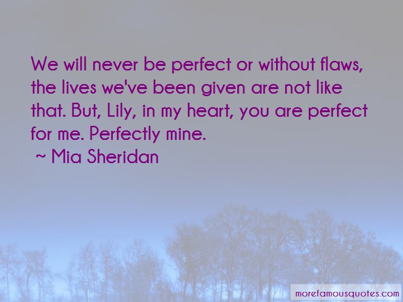 You Are Perfect For Me Quotes Pictures 2