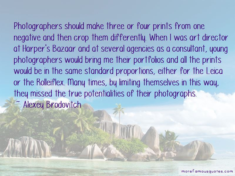 Quotes About Young Photographers