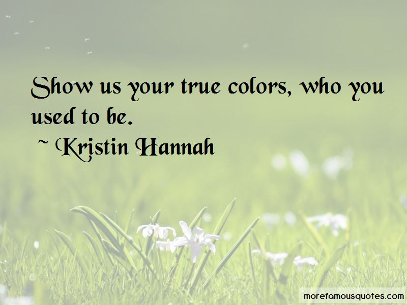 Quotes About Your True Colors