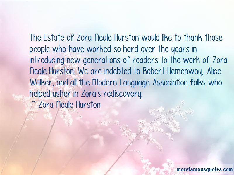 "a cultural psychologist zora neale hurston essay ""monkey junk""—zora neale hurston's experiment in oragean modernism sophia thus zora neale hurston the thesis of hurston's essay comes from a."