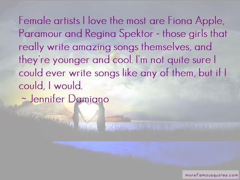Regina Spektor Love Quotes