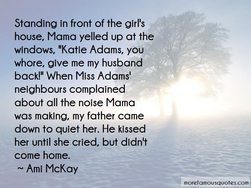She Cried Quotes