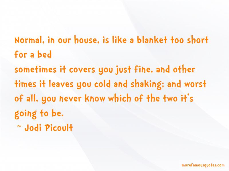 Short Blanket Quotes Pictures 3
