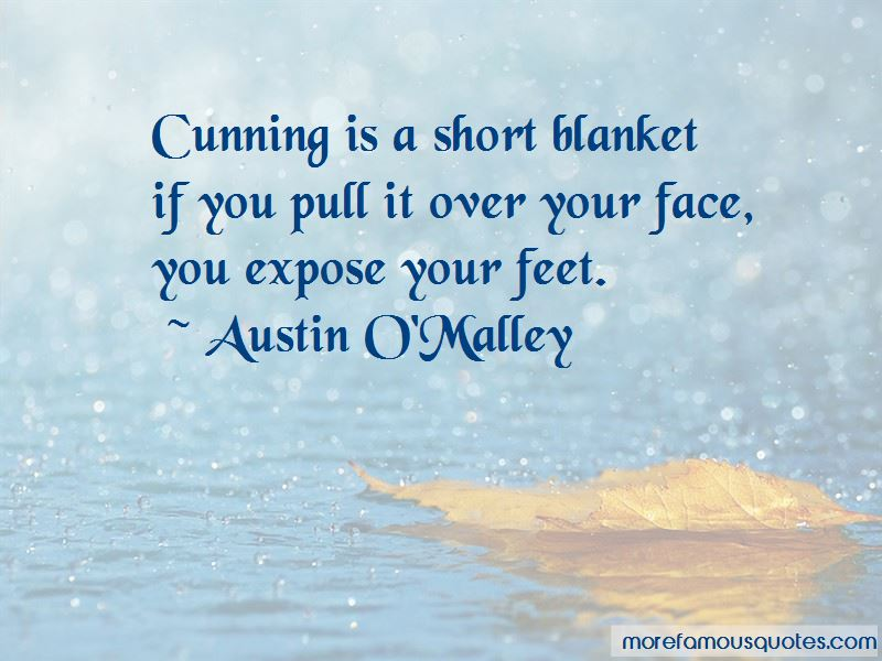 Short Blanket Quotes