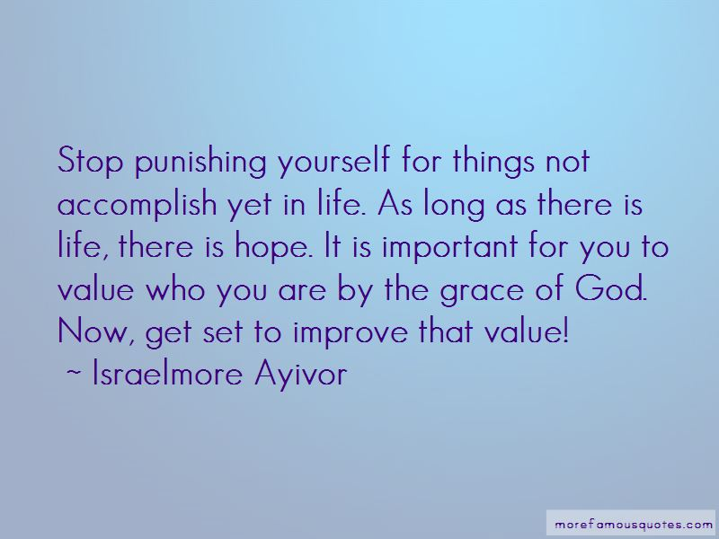 Stop Punishing Yourself Quotes Pictures 2
