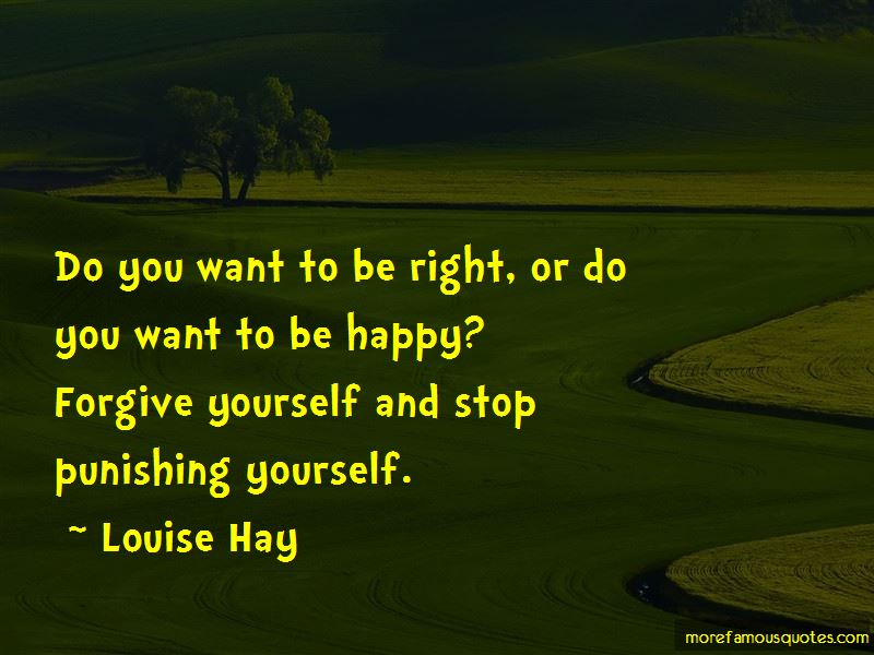 Stop Punishing Yourself Quotes