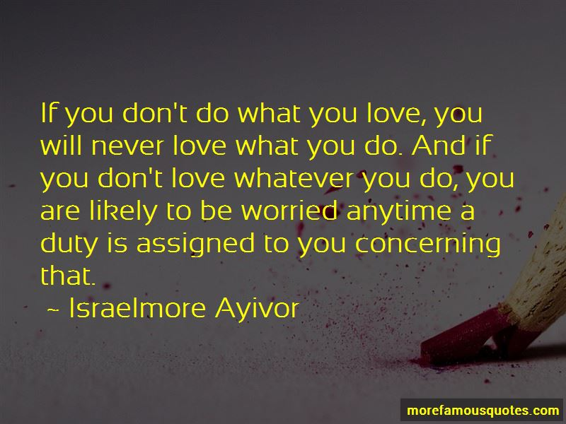 Worried About Love Quotes