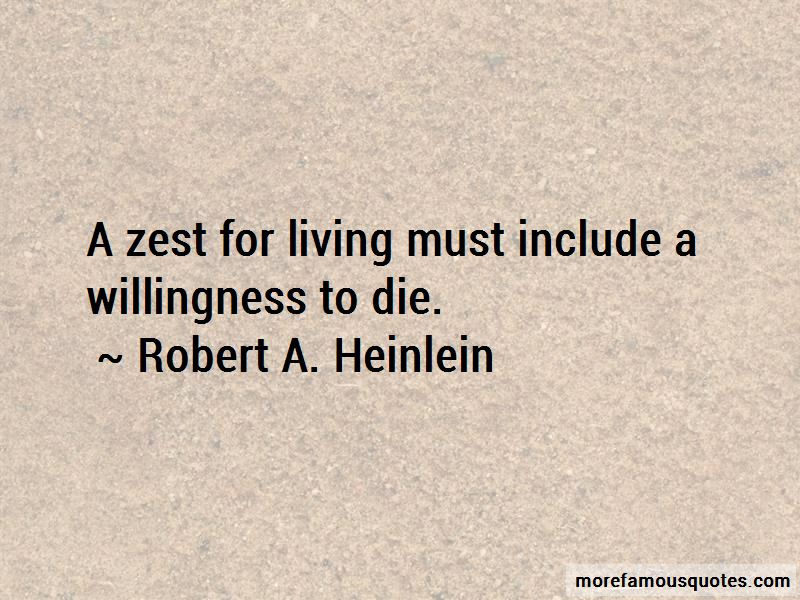 Zest For Living Quotes
