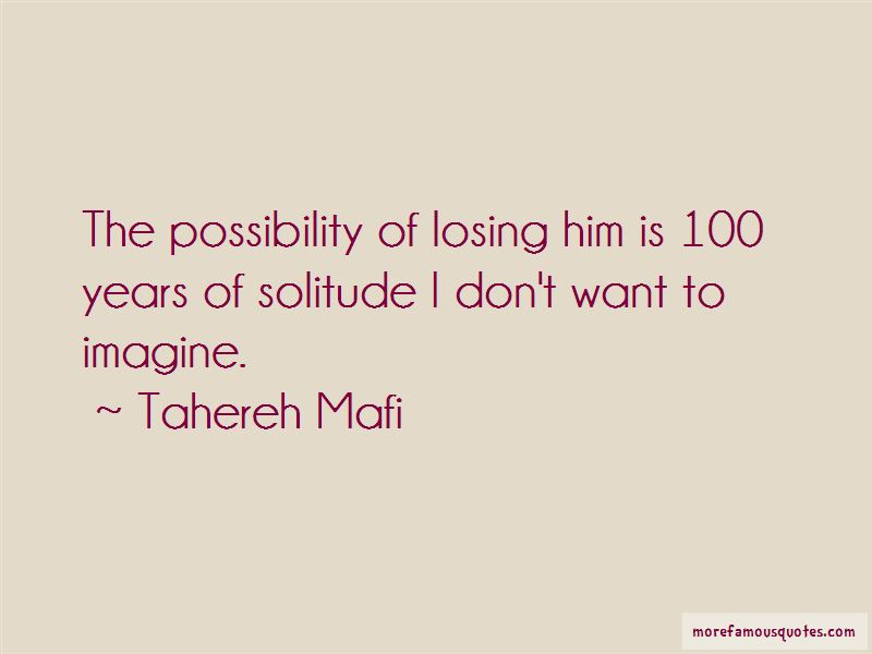 100 Years Of Solitude Quotes