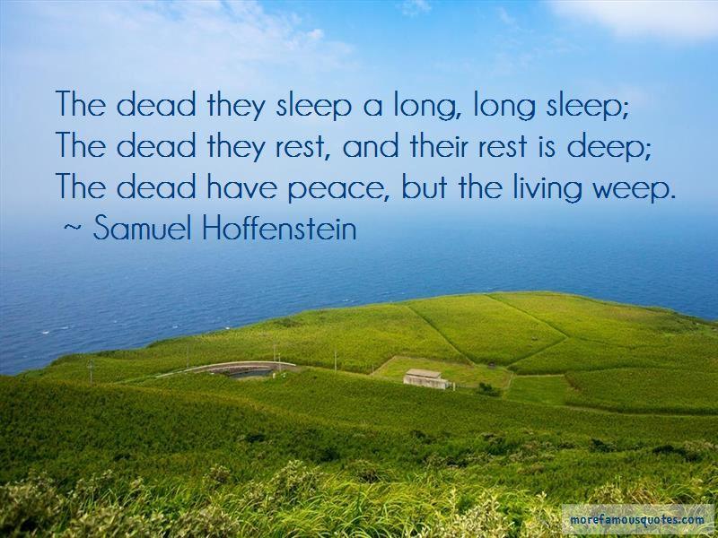 A Long Long Sleep Quotes