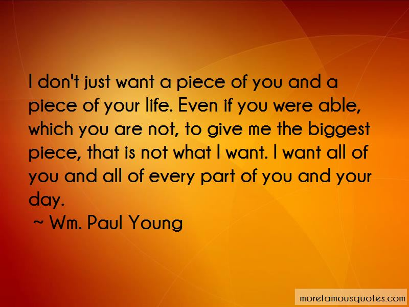 A Piece Of You Quotes