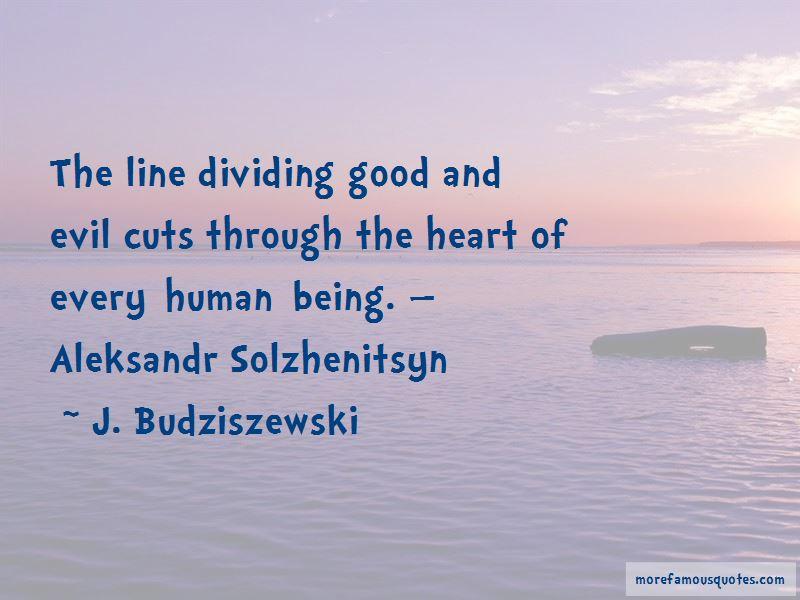 Aleksandr Solzhenitsyn Evil Quotes