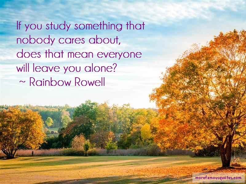 Alone Nobody Cares Quotes Pictures 3