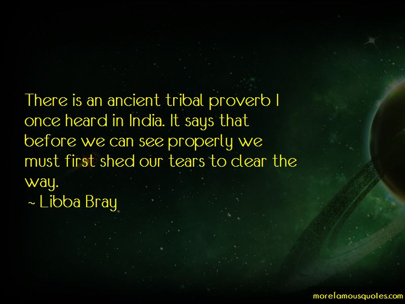 Ancient Tribal Quotes