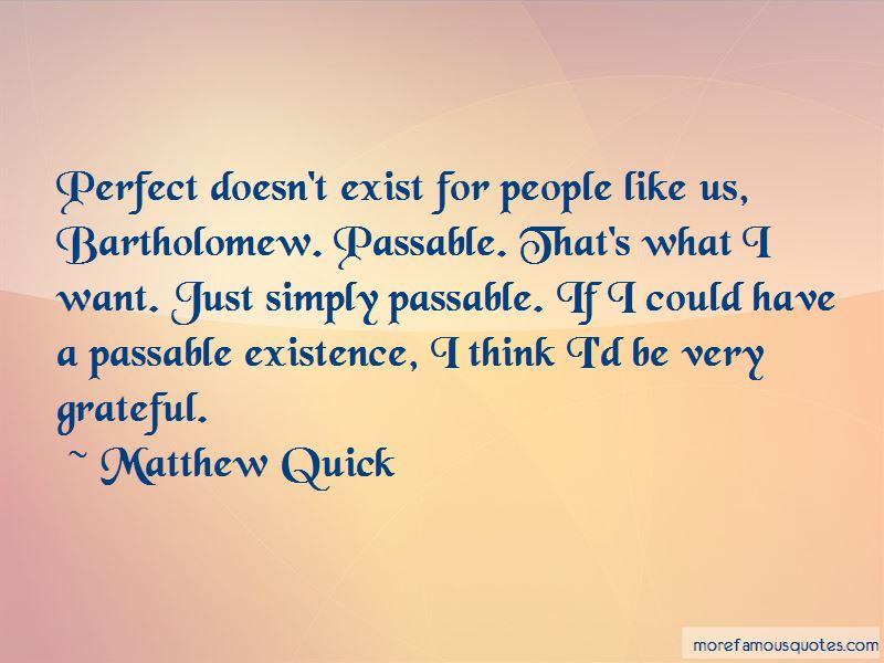Bartholomew Quotes