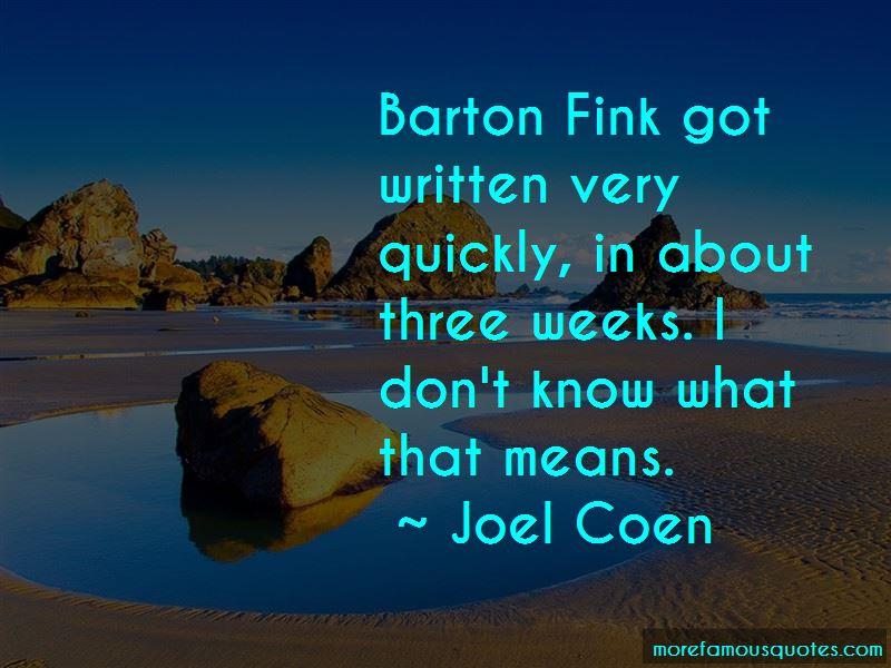 Barton Fink Quotes