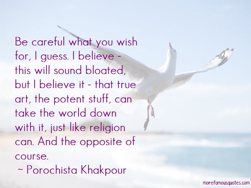 Be Careful What You Believe Quotes Pictures 2