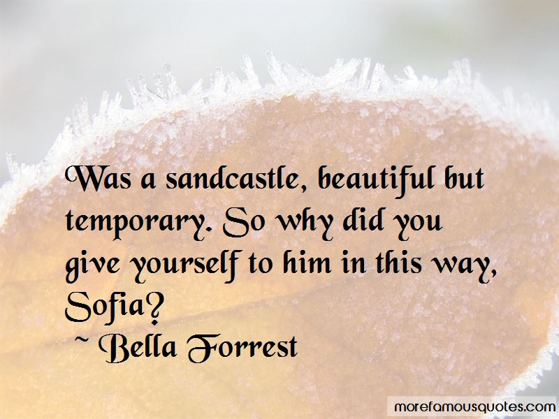 Beautiful Just The Way I Am Quotes