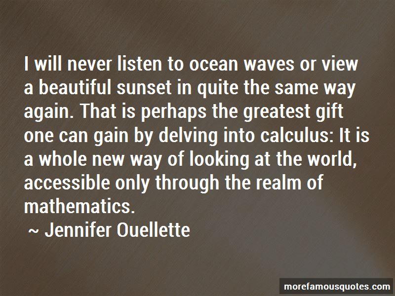 Beautiful Ocean View Quotes