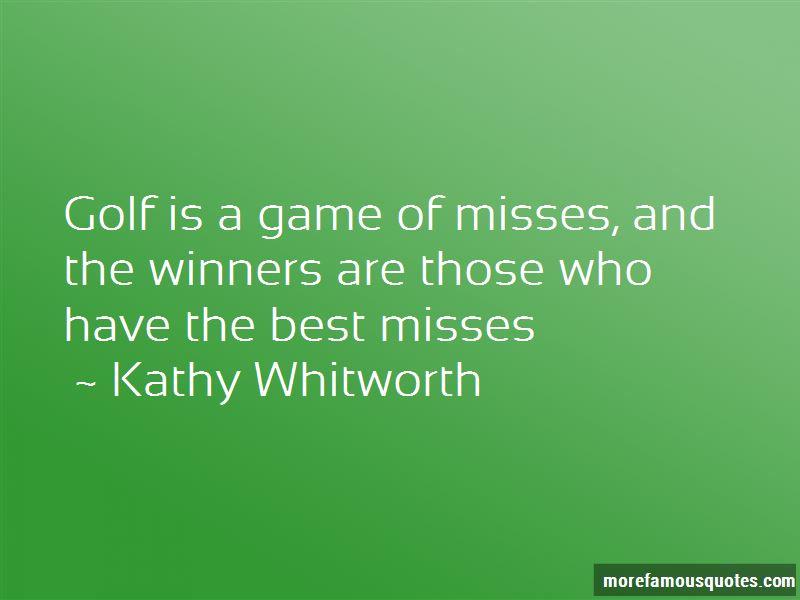 Best Misses Quotes