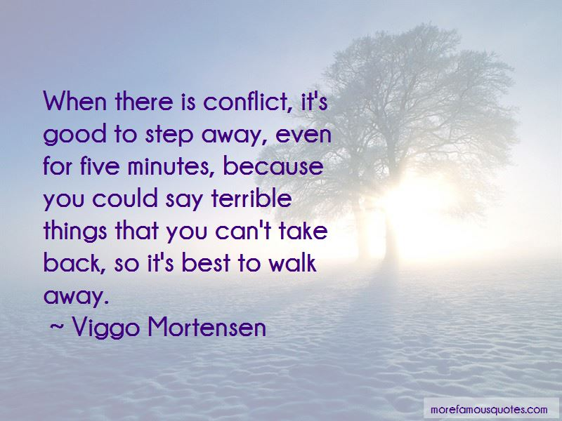 Best To Walk Away Quotes