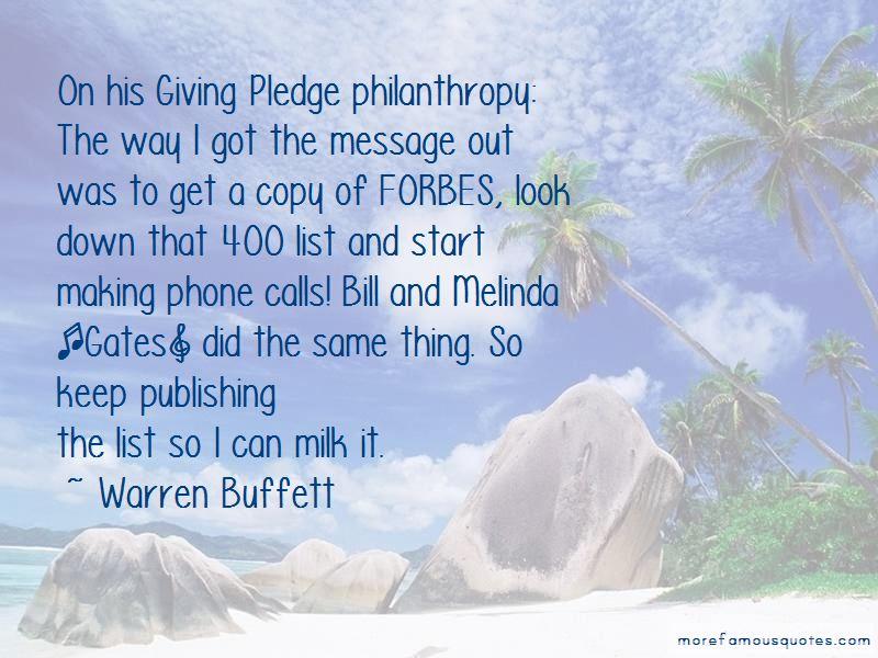 Bill Gates Philanthropy Quotes Pictures 3