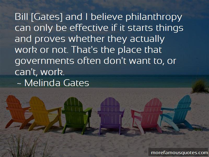 Bill Gates Philanthropy Quotes