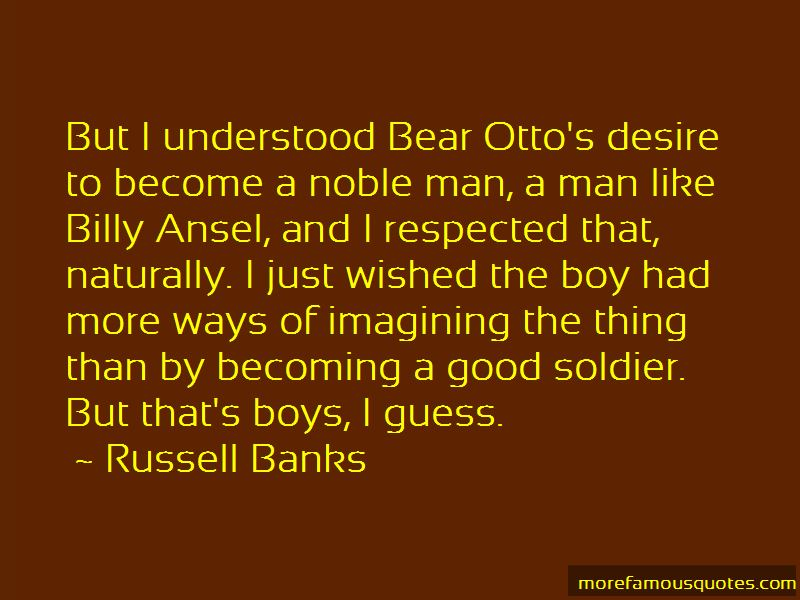 Billy Ansel Quotes