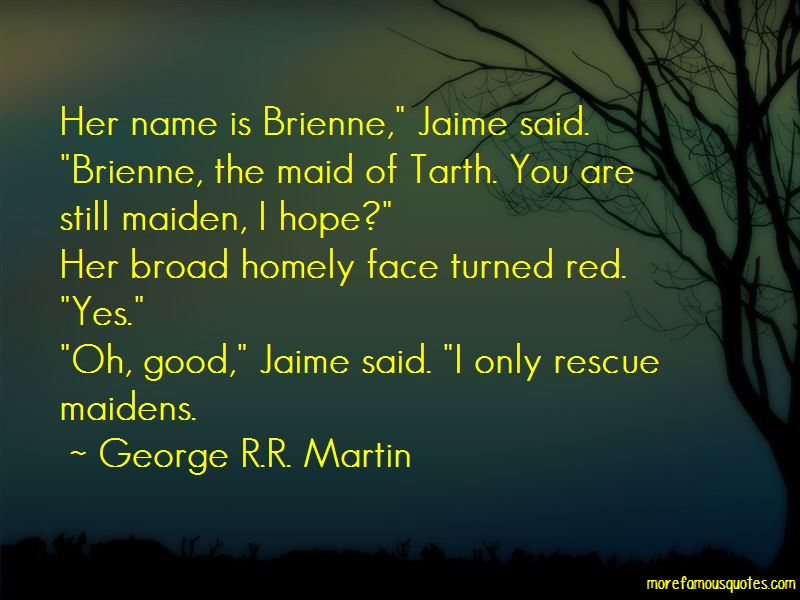 Brienne Tarth Quotes Pictures 2