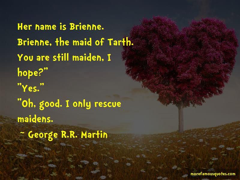 Brienne Tarth Quotes