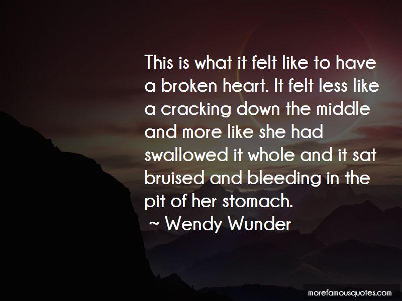 Broken Heart Bleeding Quotes Pictures 3