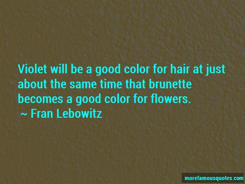 Brunette Hair Color Quotes