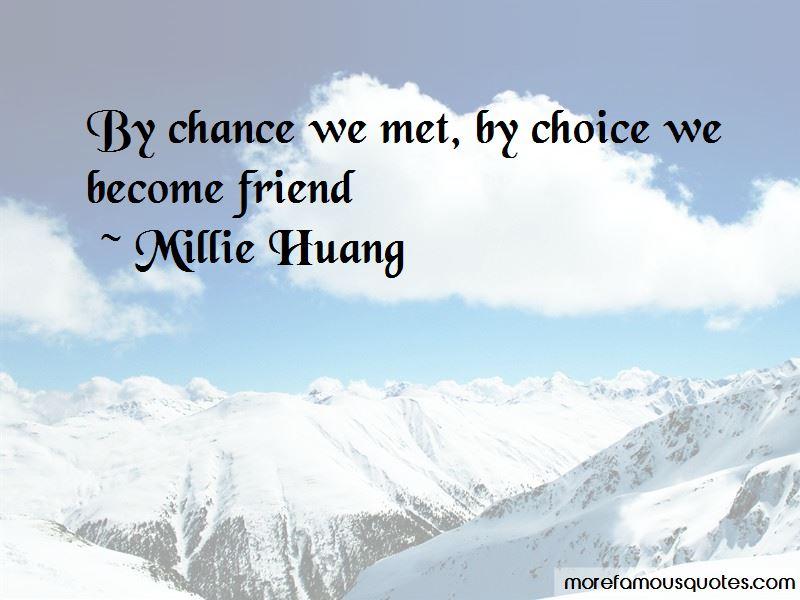 Chance We Met Quotes