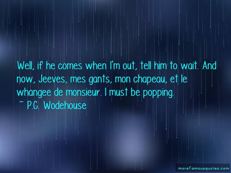 Chapeau Quotes