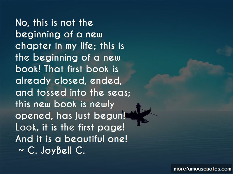Chapter Closed Life Quotes: top 3 quotes about Chapter ...