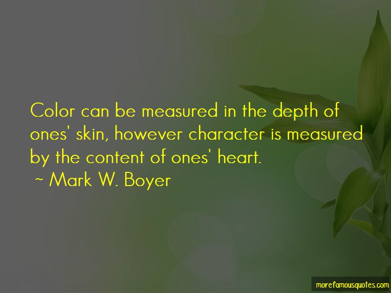Character Is Measured Quotes Pictures 2