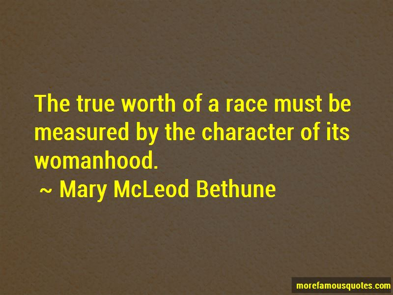 Character Is Measured Quotes Pictures 3