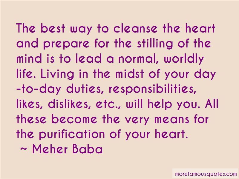 Cleanse Your Life Quotes