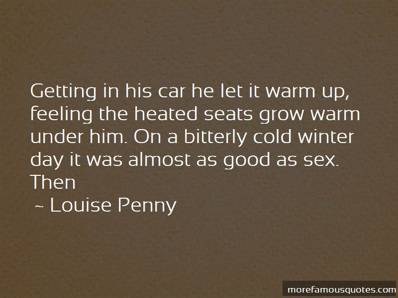 Cold Winter Day Quotes