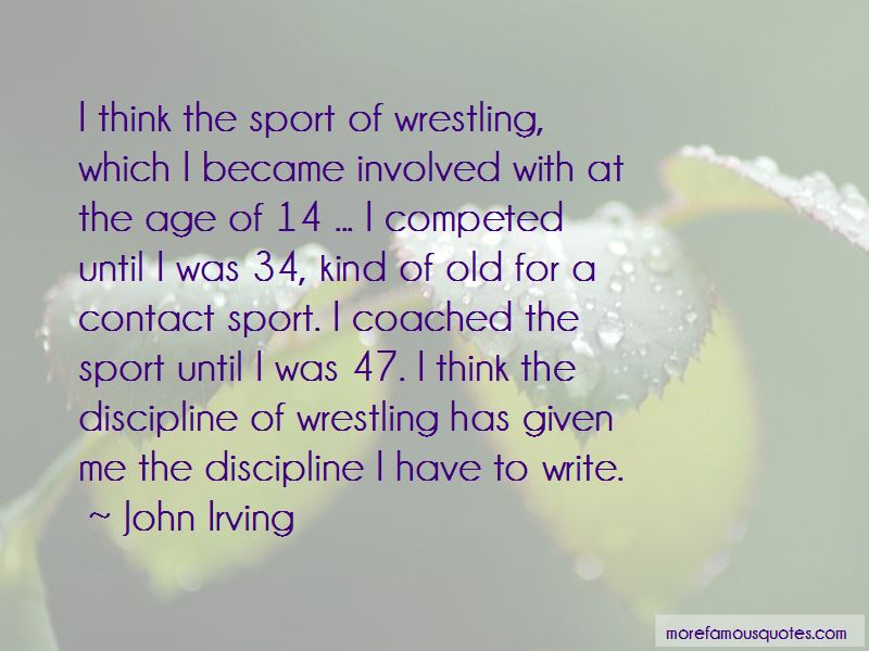 Contact Sport Quotes