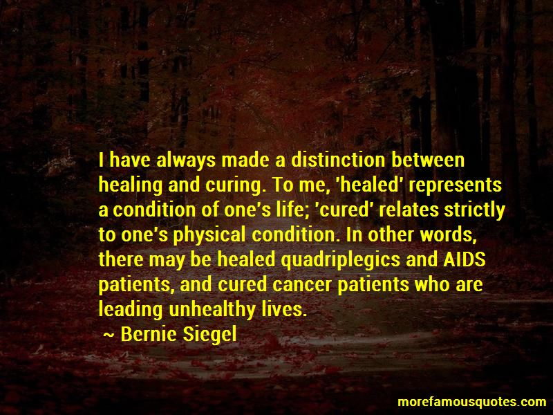 Cured Cancer Quotes