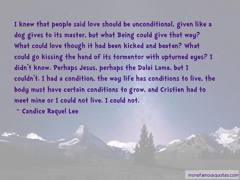dalai lama unconditional love quotes