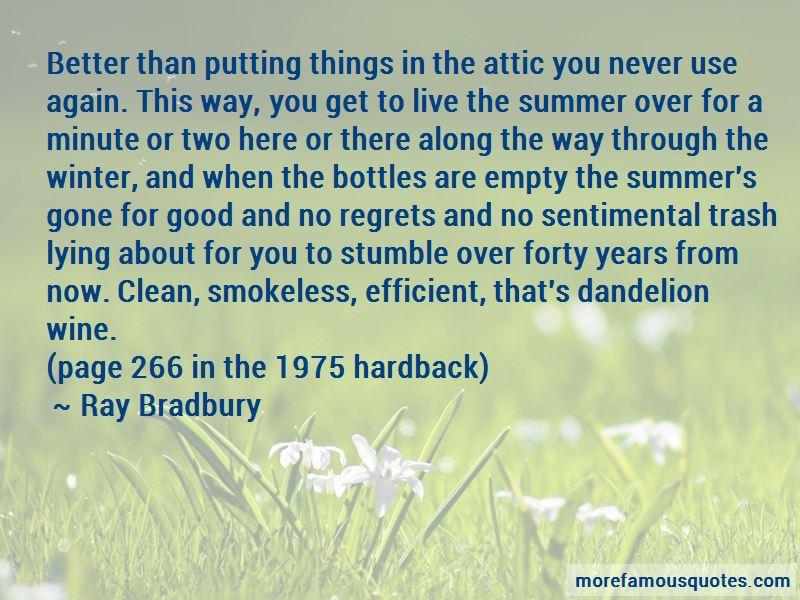 Dandelion Wine Quotes