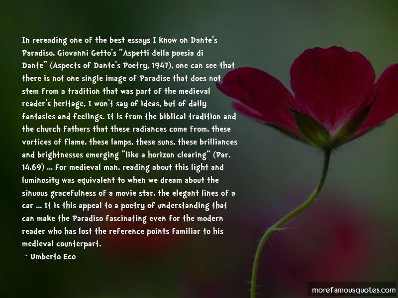 Dante's Paradiso Quotes