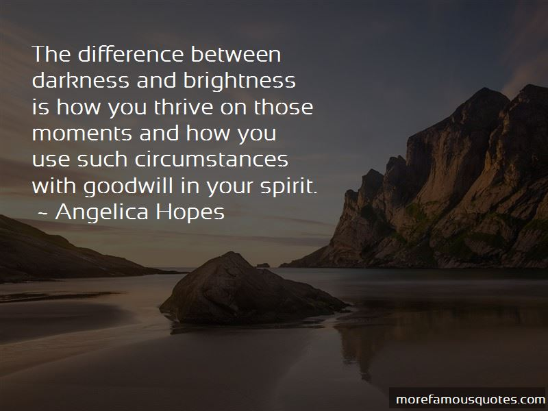Darkness And Brightness Quotes