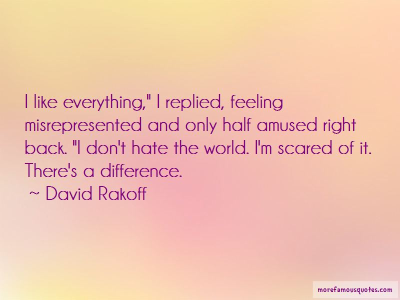 Don't Hate The World Quotes