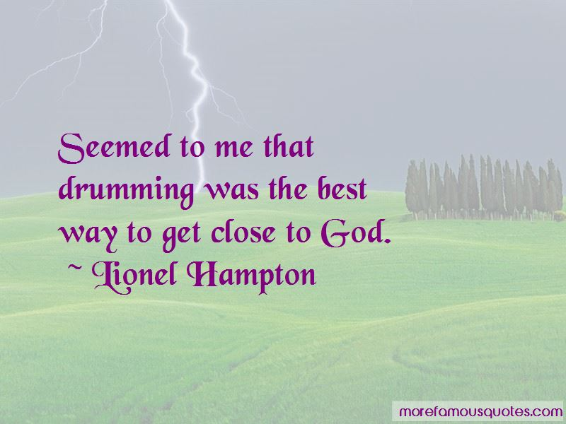 Drumming For God Quotes Pictures 2